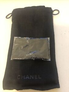 Chanel Eyeglass/Sunglass Pouch And Cleansing Cloth