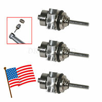 3Pcs Dental Cartridge Turbine Rotor for NSK PANA MAX High Speed Handpiece ST-QR
