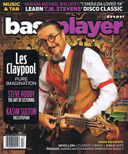 Bass Player Magazine 2014 Holiday Issue Les Claypool Steve Rodby Bass Guitar NEW