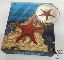 2011 Australian Sea Life Series II - Starfish 1/2oz Silver Proof Coin
