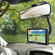 Kfz Halterung Navi: Schwanenhals-Navi-Halterung für den Auto-Rückspiegel