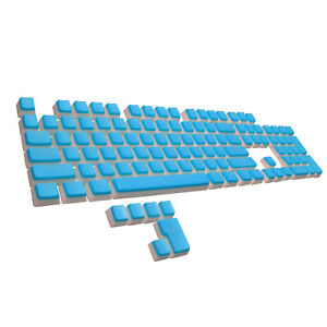 PBT Double Shot Pudding Keycaps, 14 Colors, for Mechanical Keyboard MX Switches