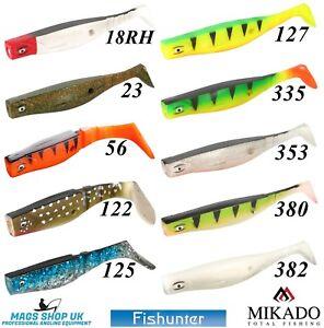MIKADO ''FISHUNTER GOLIAT'' SOFT LURES SIZE 18 CM (7'') & 22 CM (8.7''),BIG PIKE
