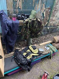 Genuine British Army Military Surplus Job Lot G2 Kit 1 Camp Survival Wild Preper