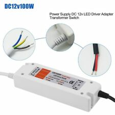 UK Stock LED Driver Power Supply Transformer 240v - DC 12v 8.33a 100w