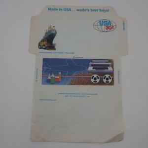 Vintage 1981 United States Airmail Typewriter Tape Reel Unused Envelope 30 Cents