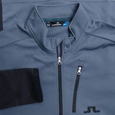 NEW J LINDEBERG MEN GOLF MID JACKET TX THERMAL DK GREY SIZE: XL