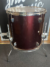 """More details for 16"""" floor tom with red wrap #644"""