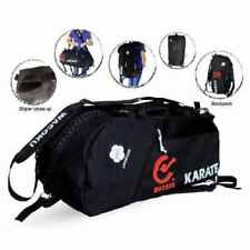Hayashi WKF Karate Sports Holdall Medium Bag Backpack White