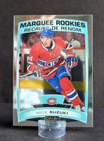 2019-20 O-Pee-Chee Platinum #164 Nick Suzuki Rookie Card Montreal Canadiens