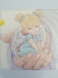 Dimensions Treasured Thoughts MAY THE LORD HOLD YOU Counted Cross Stitch Kit