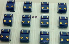 PACK OF 12 CAFLON EAR-PIERCING STUDS GOLD/SILVER PLATED/BIRTHSTONE COLOURS NEW*