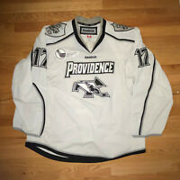 Providence College PC Game Worn Jersey size 52 Fight strap Reebok #17 40th patch