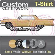 Diamond Supply Co Caddy Caddilac 50/'s Coupe Deville Crew Neck T-Shirt NWT