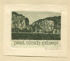 Ex libris by Schaeffer  Cliffs