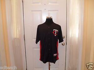 Brand New w/Tags Minnesota Twins Majestic Cool Base Batting Practice Mens Jersey