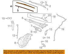 GM OEM Wiper Arm-Front Blade 23368186