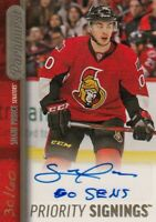 2015-16 SHANE PRINCE PRIORITY SIGNINGS PS-SP AUTO PARKHURST SIGNED #30/60