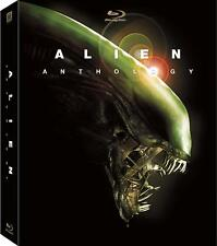 Alien Anthology Complete 4 Film Movie Series New 6-Disc Blu-Ray Set + 50Hr Bonus