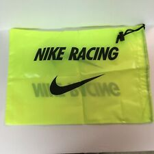 Nike Track & Field Sport Gym Pack Drawstring Neon Yellow Shoe Bag Cleats