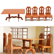 Table Plastic Miniature Doll House Furniture Set Living Room Kitchen