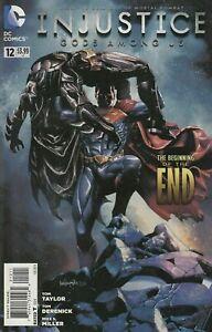 Injustice #12 Comic 2014 - DC Comics - Batman Superman Robin Joker - Video Game