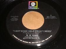 B. B. King: I Got Some Help / Lucille's Granny 45
