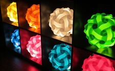 IQ Puzzle Lights Infinity Jigsaw Lamps Modern Ceiling Lampshade Large 6 Colors