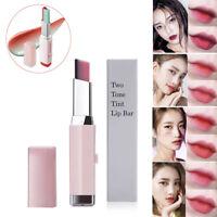 PRO Lipstick V Cutting Two Tone Tint Moisturzing Nourishing Lipstick Balm Lip