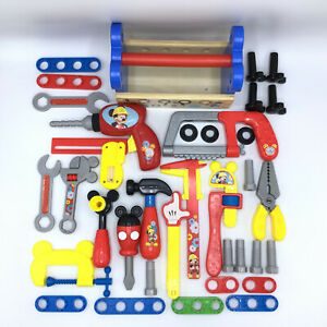 Mickey Mouse Clubhouse Handy Helper Mousekadoer Tool Set Lot Disney Lot of 36 pc