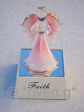 Light Up Guardian Angel~Glass~Gift~FAITH~Unique Present@PRAYING@22Ct@RELIGIOUS