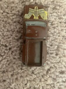 Yatming Chevy Stepside Gold Eagle Brown Diecast Pickup Truck