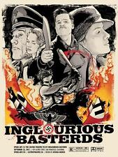 Inglorious Basterds Poster Joshua Budich AP Signed