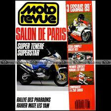 MOTO REVUE N°2868 YAMAHA YZ 250 FZR 1000 XTZ 750 SUPER TENERE DUCATI 851 1988