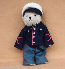 Boyds Bears Plush Vintage Marine Military Bear New Retired