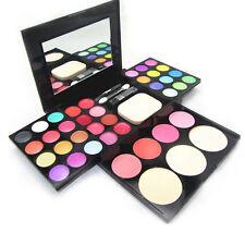 New Makeup Eyeshadow Palette Powder Blush Lip Kit Box Women Tools Cosmetic Set
