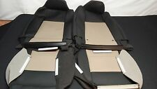 2006-09 OEM Ford Ranger black with TAN cloth seat covers sport buckets
