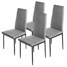Chaise de salle à manger gris pour la cuisine