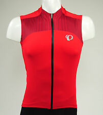 Pearl Izumi Elite Pursuit Sleeveless Cycling Jersey, True Red/Chili Pepper,Small