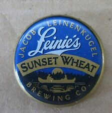 LEINENKUGEL LEINIE'S SUNSET WHEAT MICRO CRAFT NO DENTS USED BEER CAP