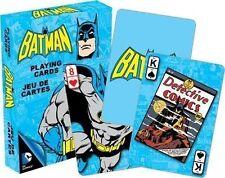 BATMAN RETRO - PLAYING CARD DECK - 52 CARDS NEW - DC COMICS DARK KNIGHT 52294