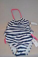 NWT Baby Gap swim wear girls 2 yrs - 2 piece bikini blue w/ stripes
