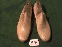 Vintage Pair Wood Size 10 E TROOPER Shoe Factory Industrial Lasts #D-84