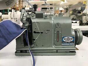 Merrow M-2DNR-1 Industrial Purl Edge Sewing Machine
