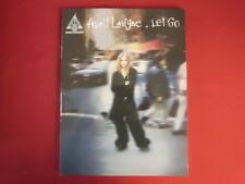 Avril Lavigne-Let Go. Carnet de chansons Apręs Vocal Guitar