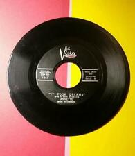 VINTAGE 1950's BUENA VISTA RECORDS 45 RPM RECORD - ANNETTE - IT TOOK DREAMS - O
