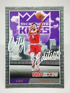 Panini Hoops 2020-21 N19 NBA City Edition #26 De'Aaron Fox - Sacramento Kings