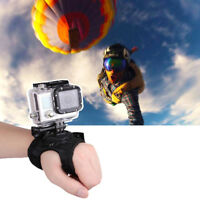 Glove Wrist Band 360 Degree Swivel Rotation Hand Tripod For Go Pro Hero 5/4/3+SP