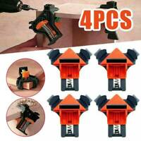 4pcs  90 Degree Right Angle Clamp Adjustable Clamps Corner Holder Woodworking UK