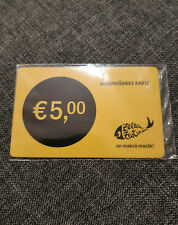 Latvia ZZ Prepaid 5€ Refill Card Top Up (Via ebay messages Delivery)